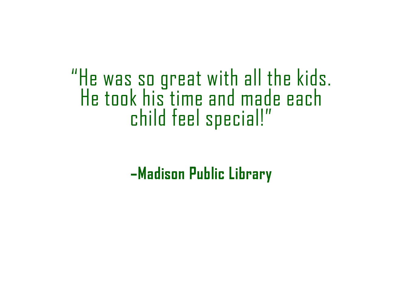 Review - Madison Library
