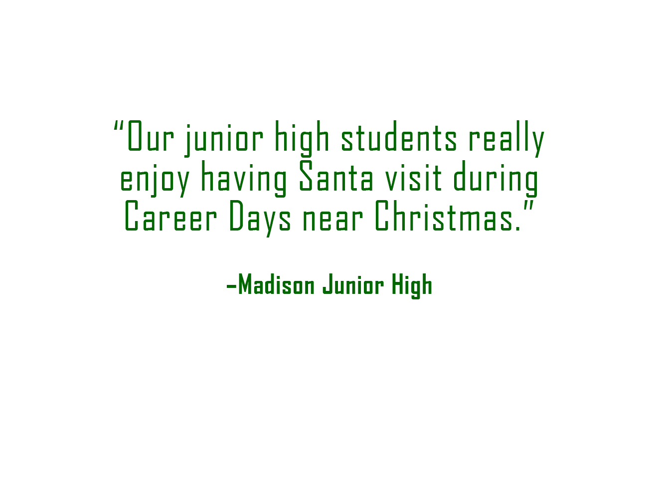 Review - Madison Junior High