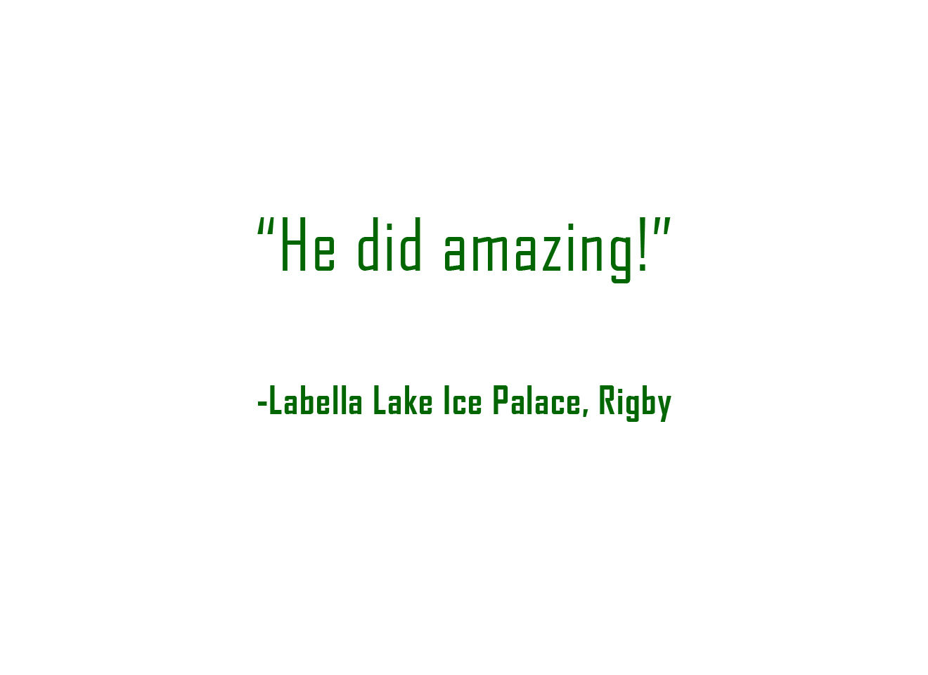 Review - LaBelle Lake
