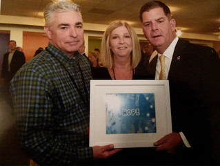 Boston Mayor Marty Walsh Accepts a Hope Print