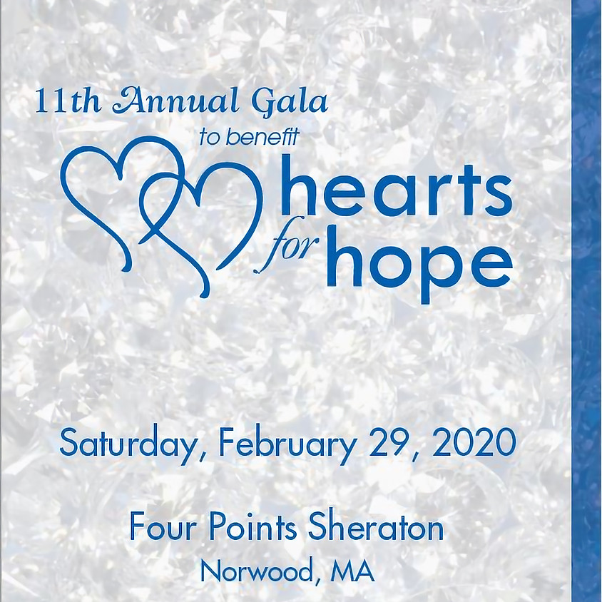 11th Annual Hearts for Hope Gala