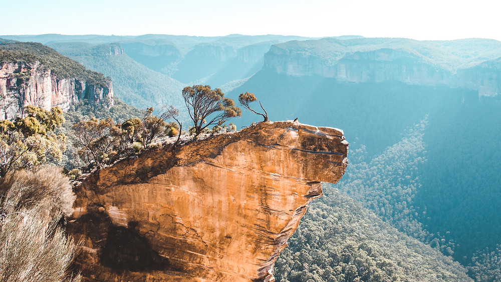 Visit the Hanging Rock in the Blue Mountains! One of the most incredible lookouts only located a 2 hour drive outside of Sydney!