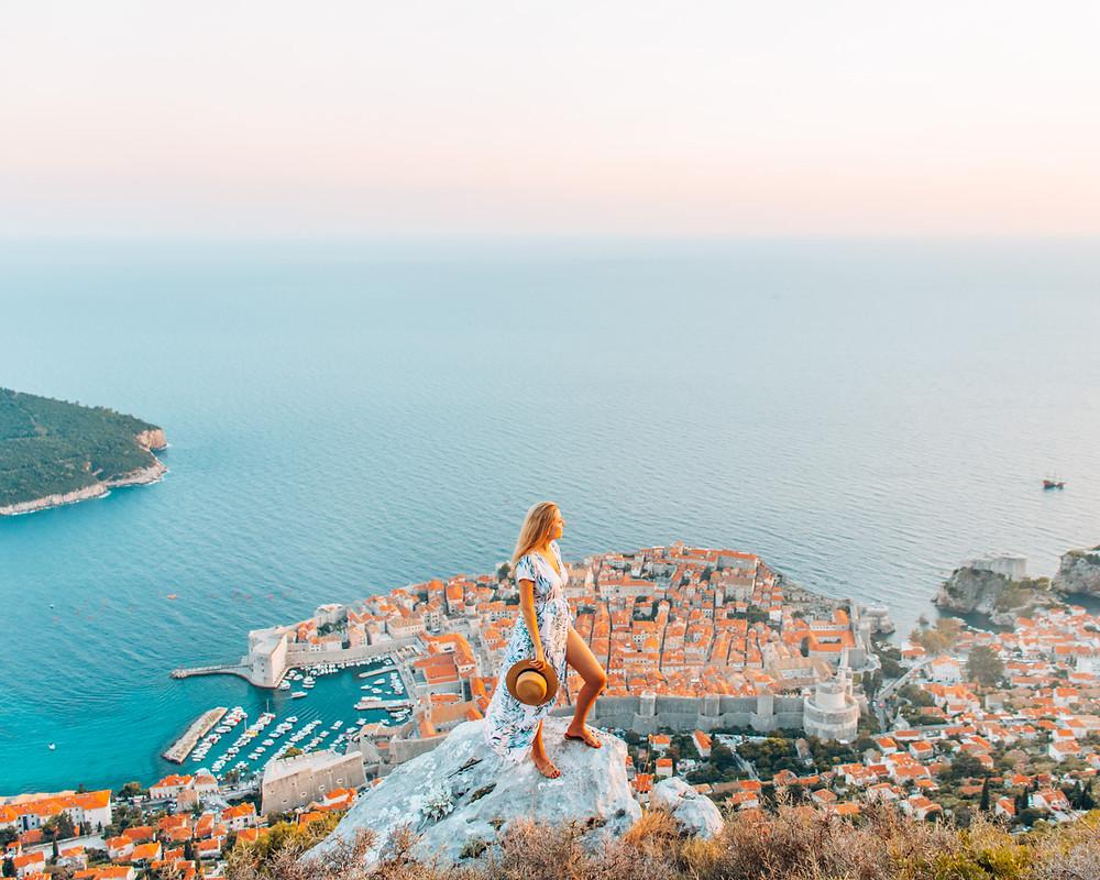 Dubrovnik Croatia mount srd