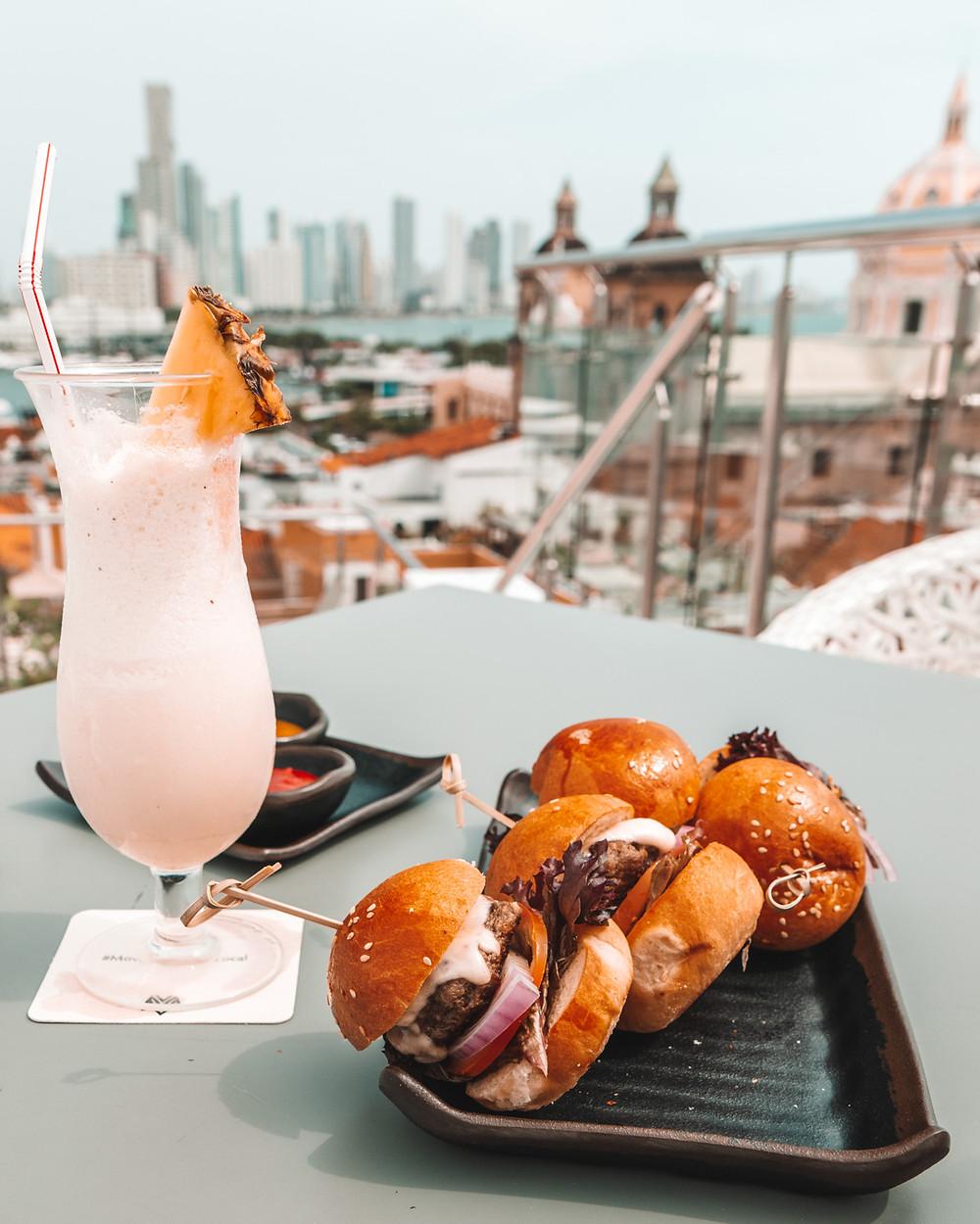Movich Hotel Cartagena rooftop