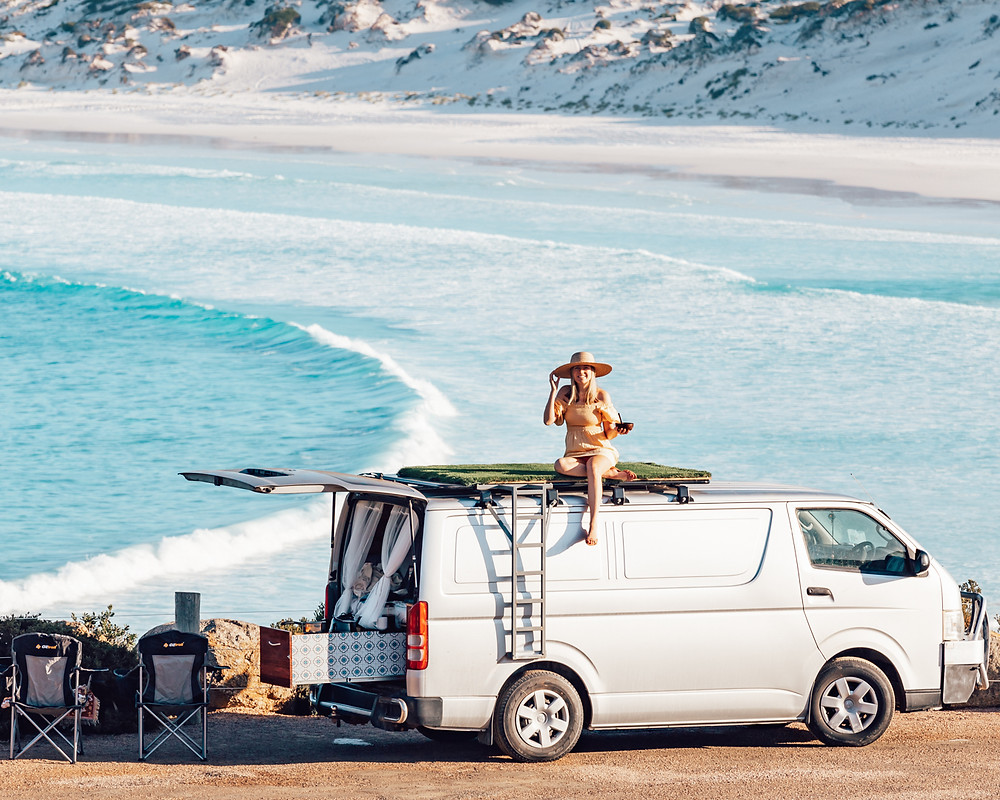 Explore Western Australia! Want to see some of the BEST beaches in Australia? Head to Western Australia! Some of the whitest sand, crystal clear blue water and endless coastlines, make Western Australia your next holiday! Rent a camper van and travel from Perth, Margaret River, Albany, to Esperance. Here are some of our favorite spots on this road trip!