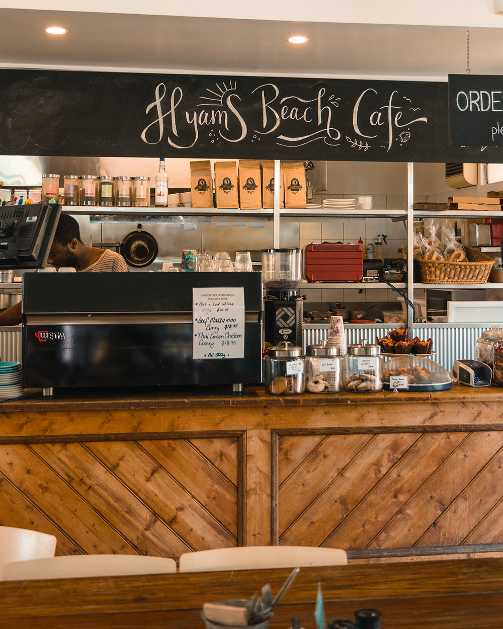 Hyam's beach cafe