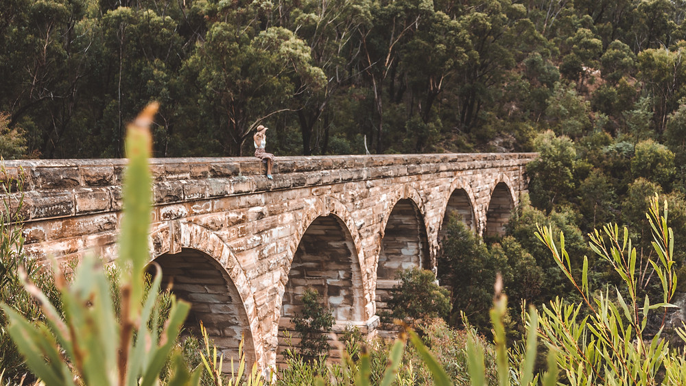 Visit Zig Zag Bridge in the Blue Mountains. One of the coolest, hidden spots in the Blue Mountains located a day trip from Sydney, Australia