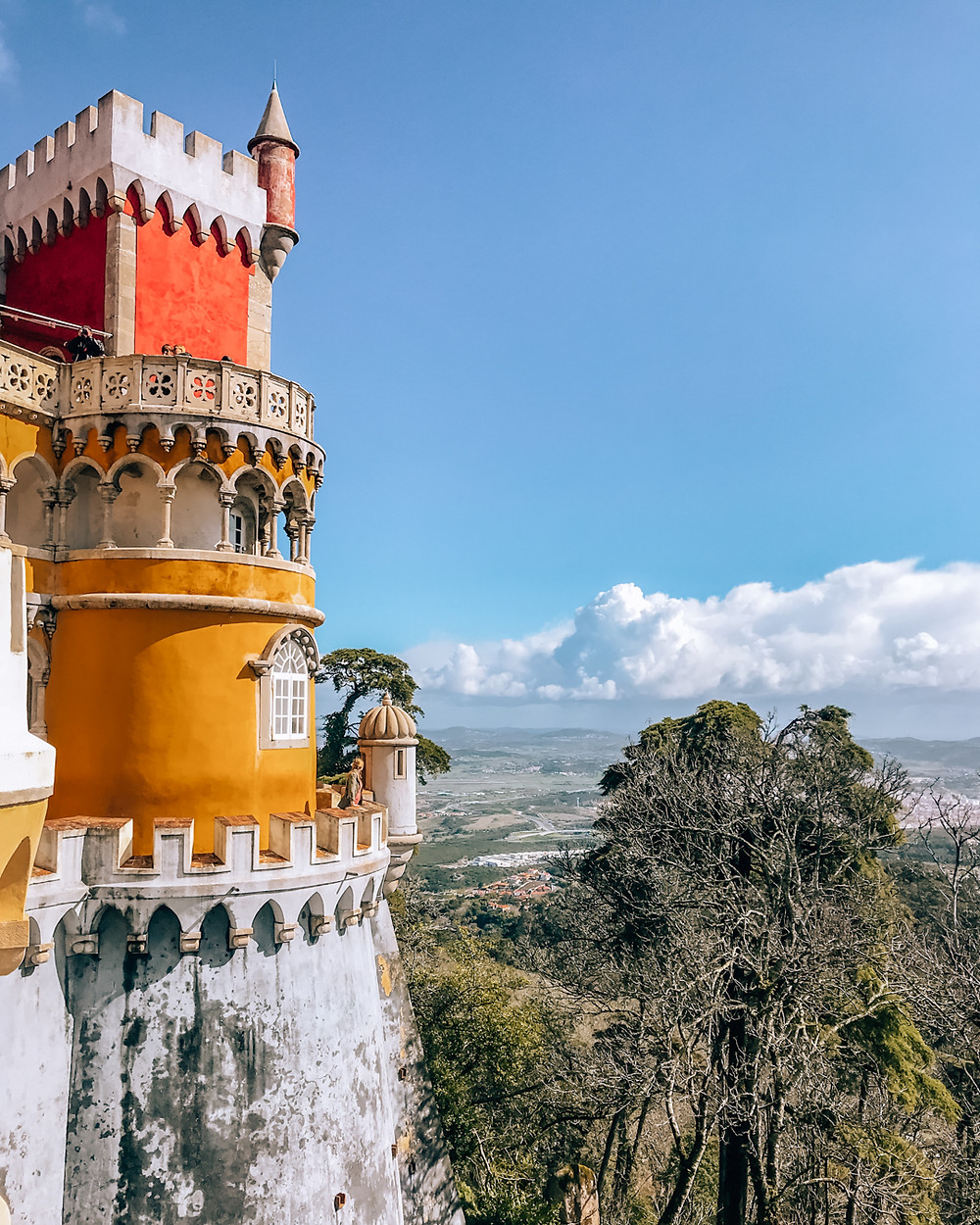 Pena palace in Sintra Portugal lisbon
