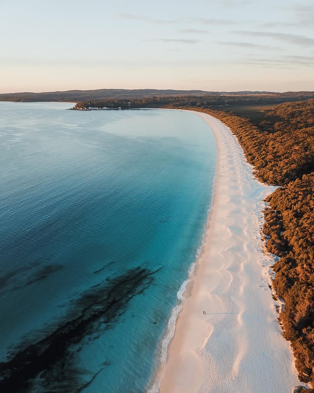 Hyam's beach jervis bay