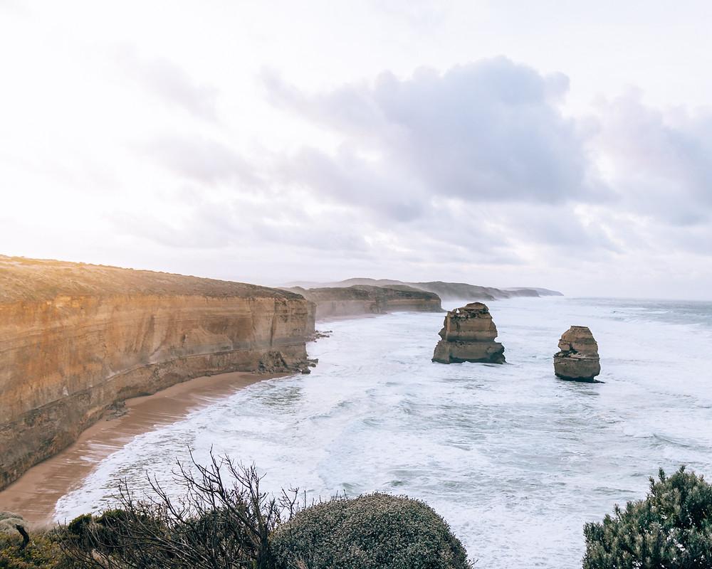 Gibson's Step 12 apostles Melbourne Great Ocean Road Australia