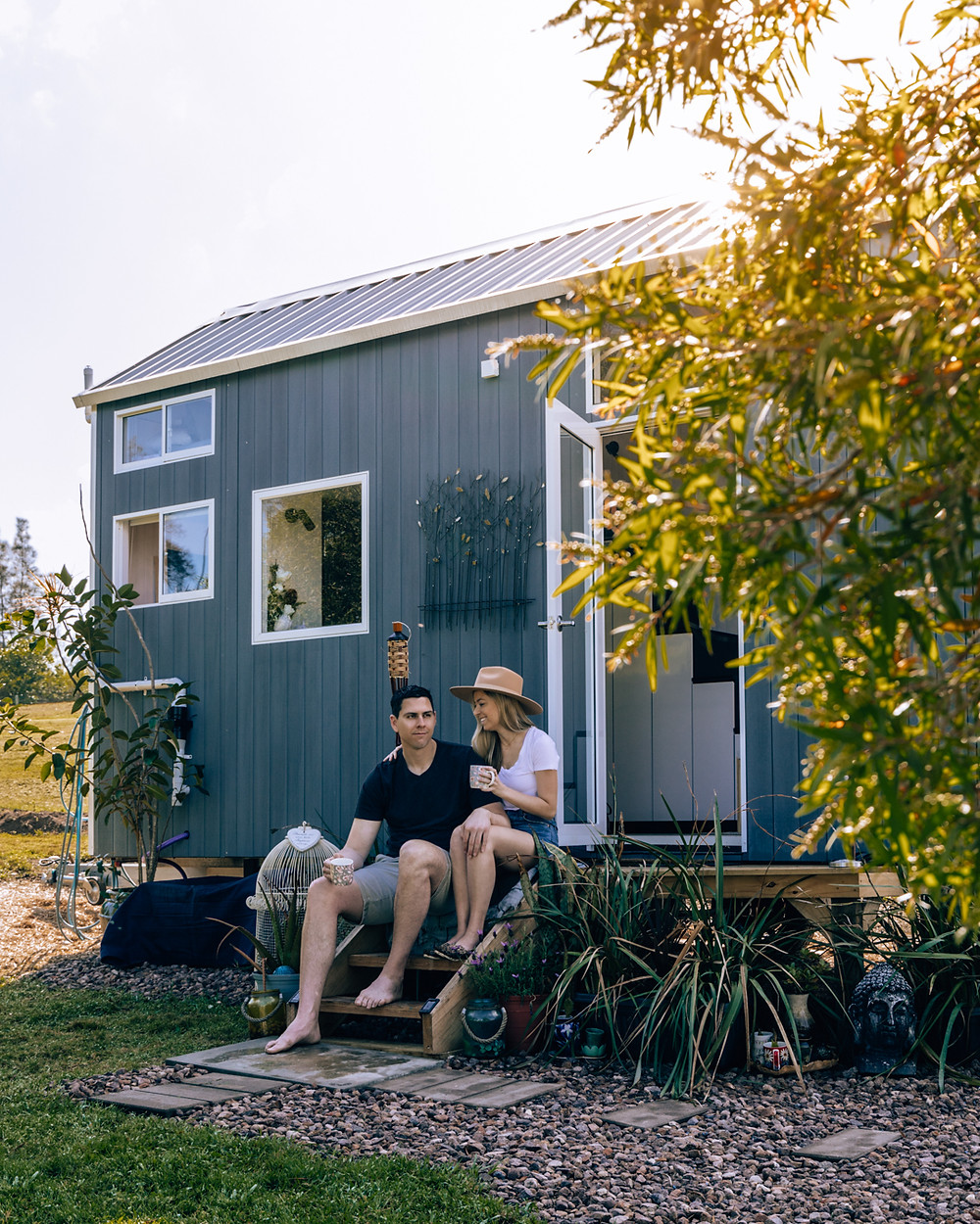 Stay at the Clyde tiny home in Eagleton, NSW with Riparide