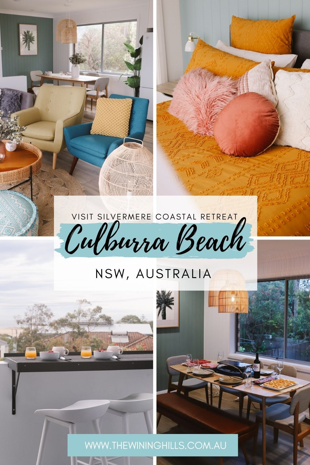 Silvermere Coastal Retreat- A 2.5 Hour drive south of Sydney on Culburra Beach! Check out this adorable Beach House!