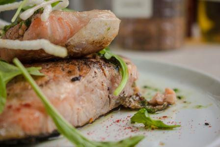 plato de salmon