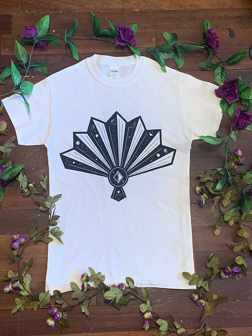 Cortney Dixon White Fan T-shirt