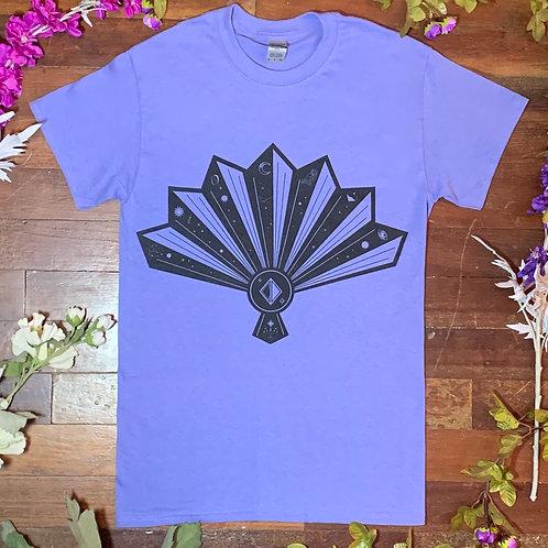 Cortney Dixon Violet Fan T-shirt