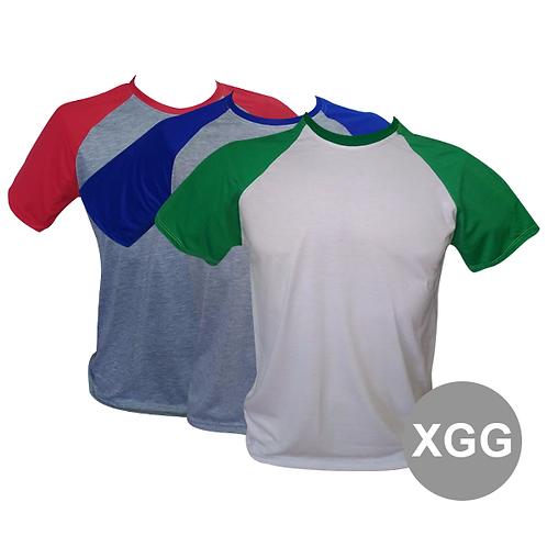 Camiseta Raglan XG