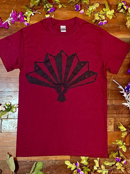 Cortney Dixon Maroon Fan T-shirt