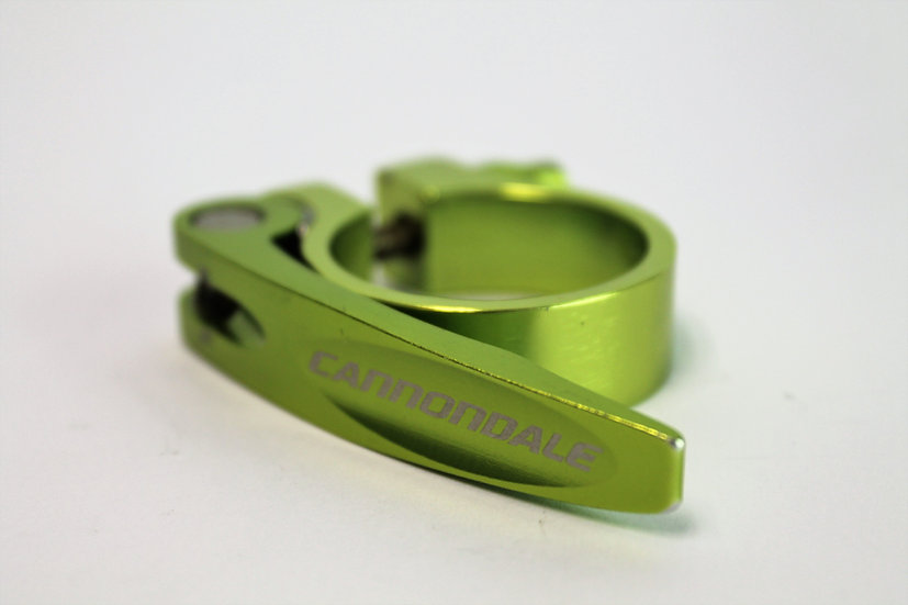 Cannondale QR Seat Clamp - Green 35mm