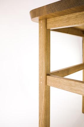 Desk Leg Detail