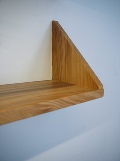 Scottish Elm Shelf detail