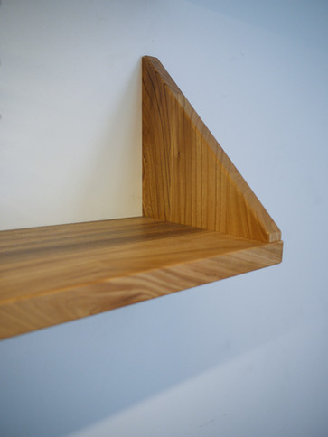Scottish Elm Shelf detail