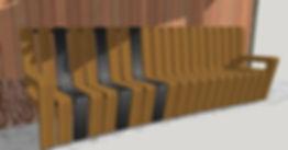 Bench design option 1