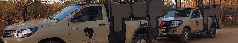 Chasin' Africa Safari Vehicles