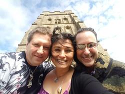 With Sorita D'Este & David Moore