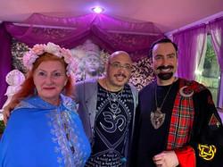 With Susan Marie Paramour Claudiney Prieto