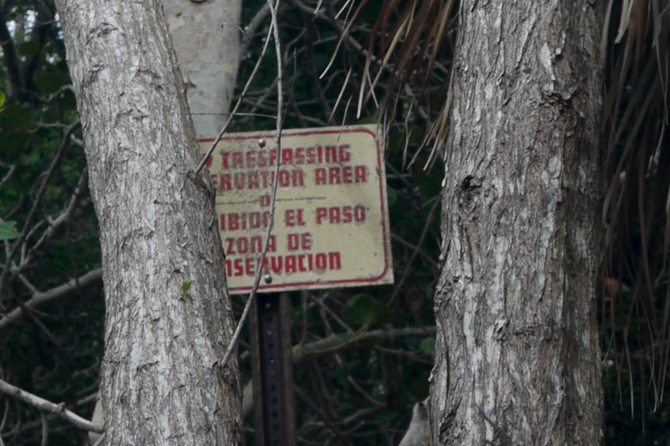 A suspicious station on the Gulf Coast