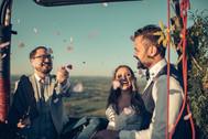 Celebração em um balão!