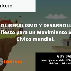 NEOLIBERALISMO Y DESARROLLO. Manifiesto para un Movimiento Social Cívico mundial.