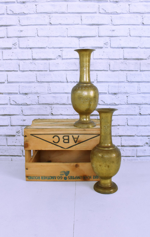 Large Brass Vase 3 Day Hire