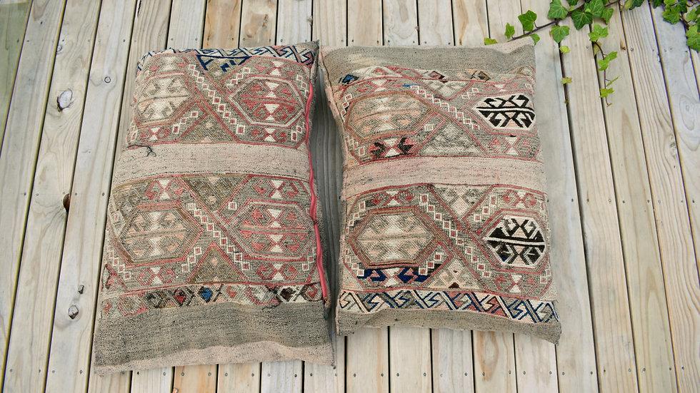 Large Natural Kilim Cushions