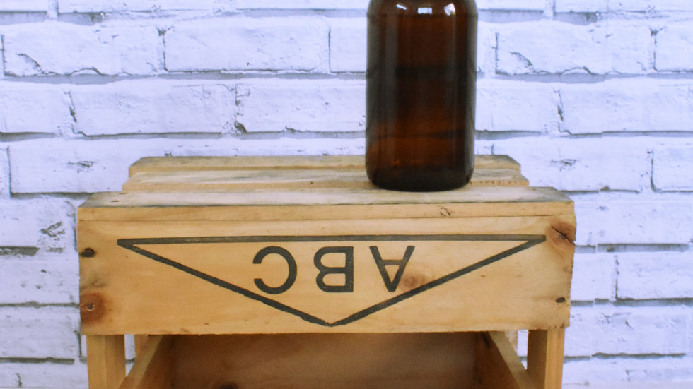 Brown Glass Bottle- 3 day hire