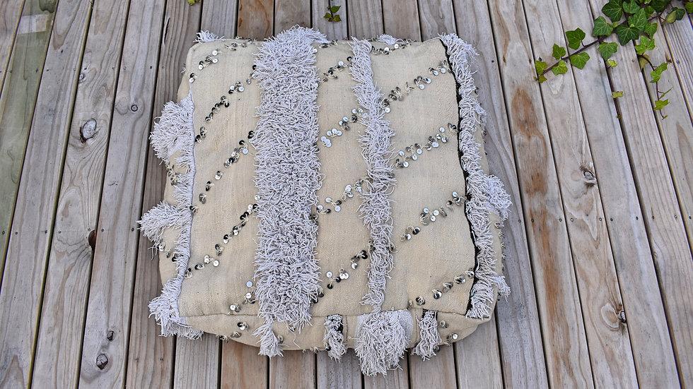 Wedding Blanket Pouffe