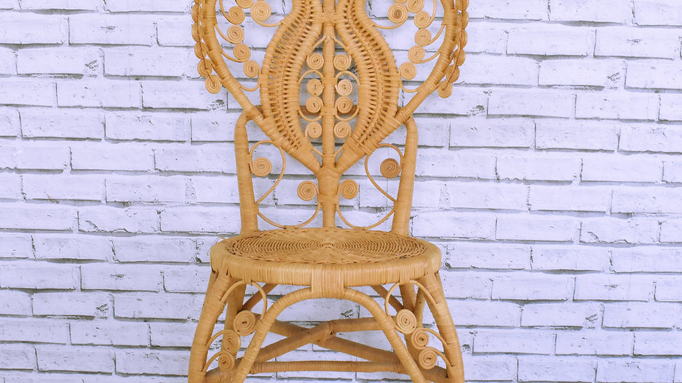 Peacock Signing Chair- 3 day hire