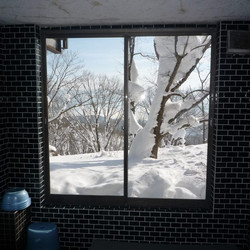 view from shared bathroom
