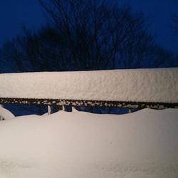 Don's snow gauge