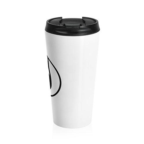 Stainless Steel Travel Mug (White)
