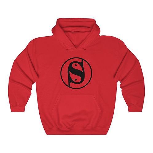 Unisex Heavy Blend™ Hooded Sweatshirt (Black Print)