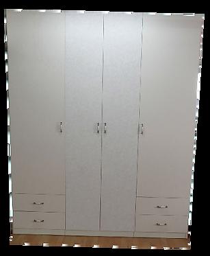 ארון גוף סנדוויץ דלתות מדפ יצוק עם טריקה שקטה במגירות ובדלתות 200/240