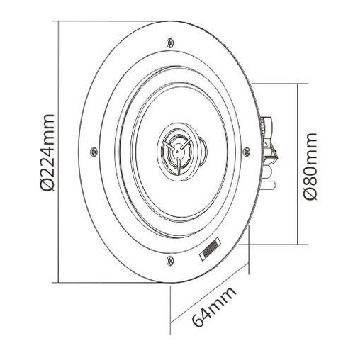 Audio Crossover Diagram