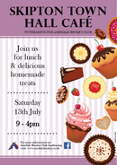 CAFE FUNDRAISER - SAT 13TH JULY