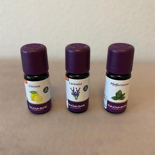3er SET ätherische Öle  je 5ml Taoasis Bio/Demeter