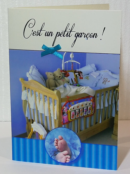 Carte de Naissance : C'est un petit garçon!
