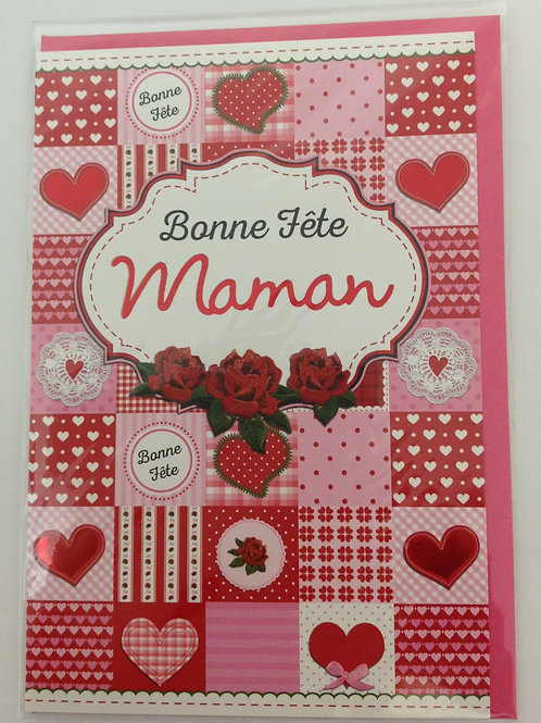 Carte pour souhaiter une Bonne fête maman