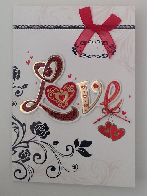 Carte St Valentin Love