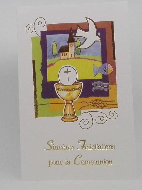 Carte pour la Communion 001