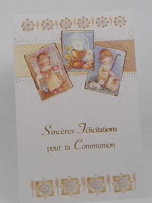 Carte pour la Communion 003